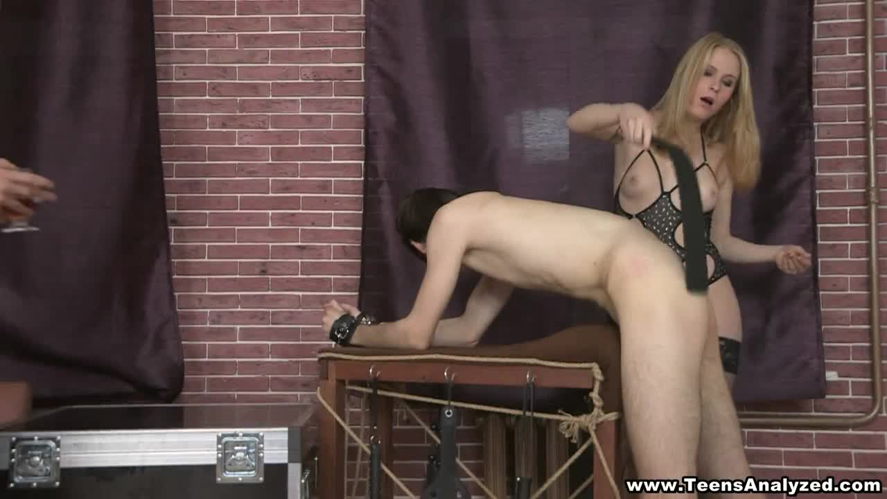 Assfucked and Double-drilled Kinky Blonde