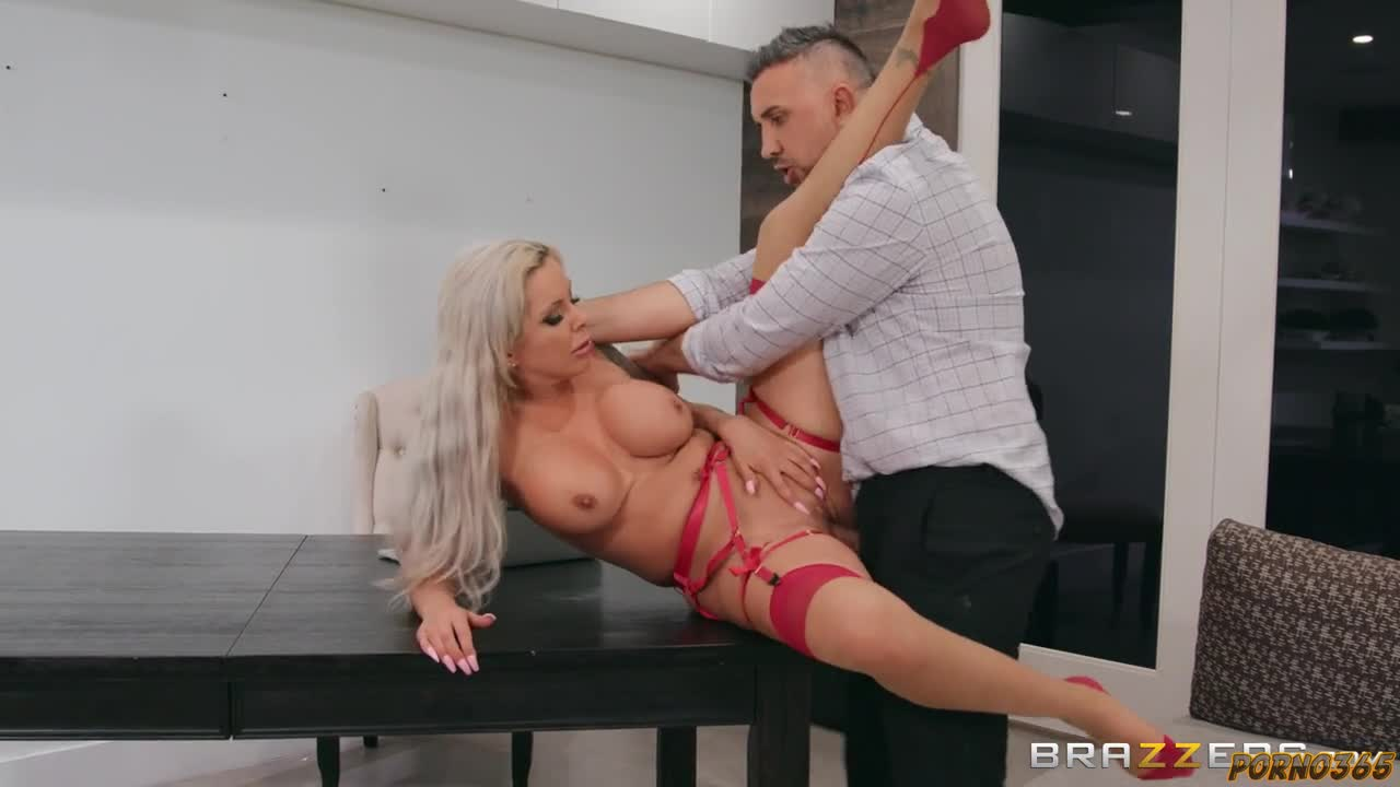 Business partner cool fucks busty milf in his office